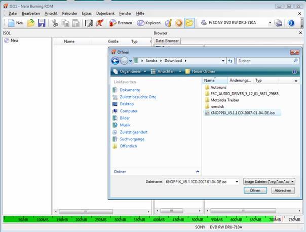KNOPPIX V5 1 1CD-2007-01-04-DE